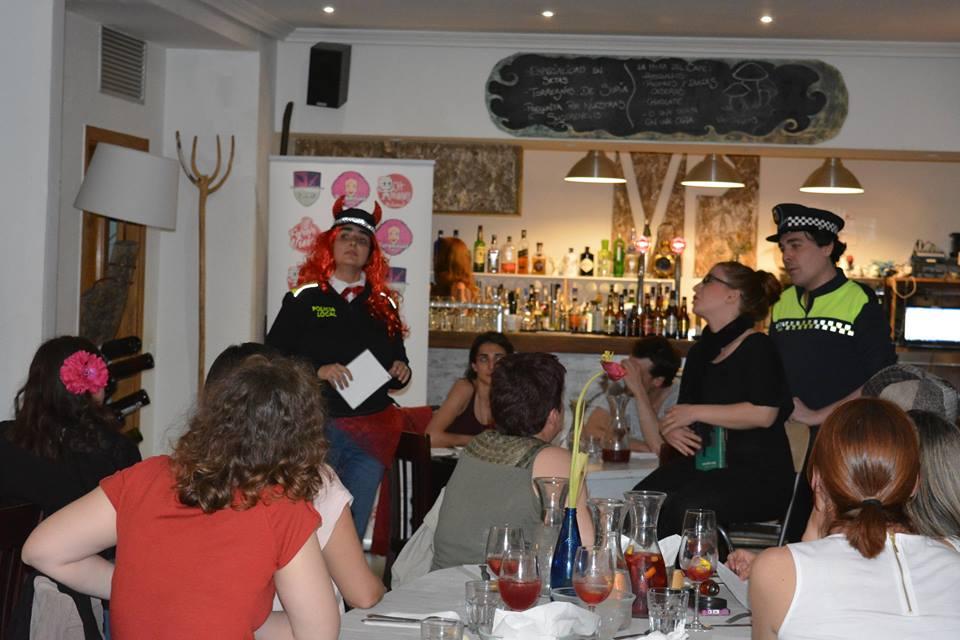 Cenas con Asesinatos Madrid