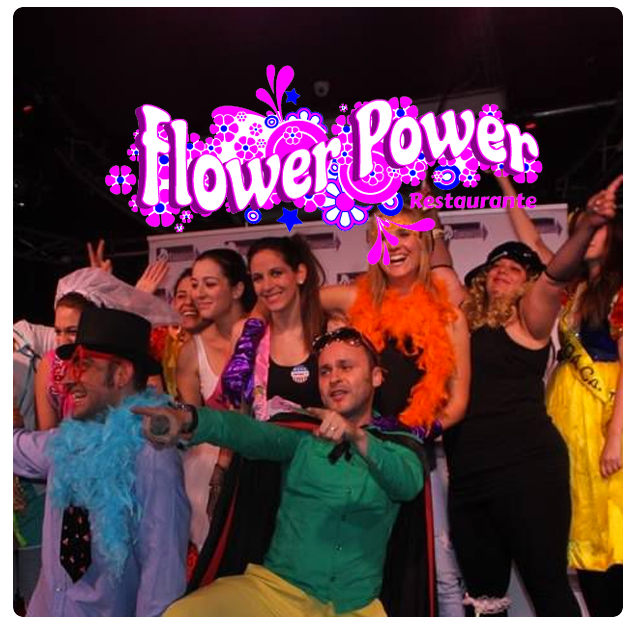 Restaurante flower power
